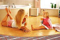 Монтаж теплої підлоги у Тернополі