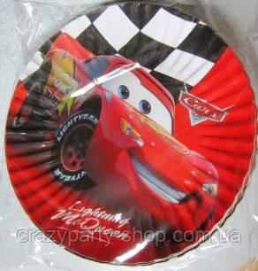 Тарелка праздничная десертная  Тачки