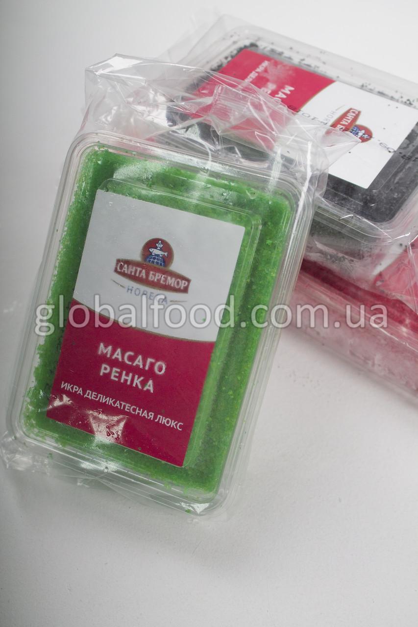 Икра Капеллана Масаго Ренка Замороженная Зелёная (0,5 кг)