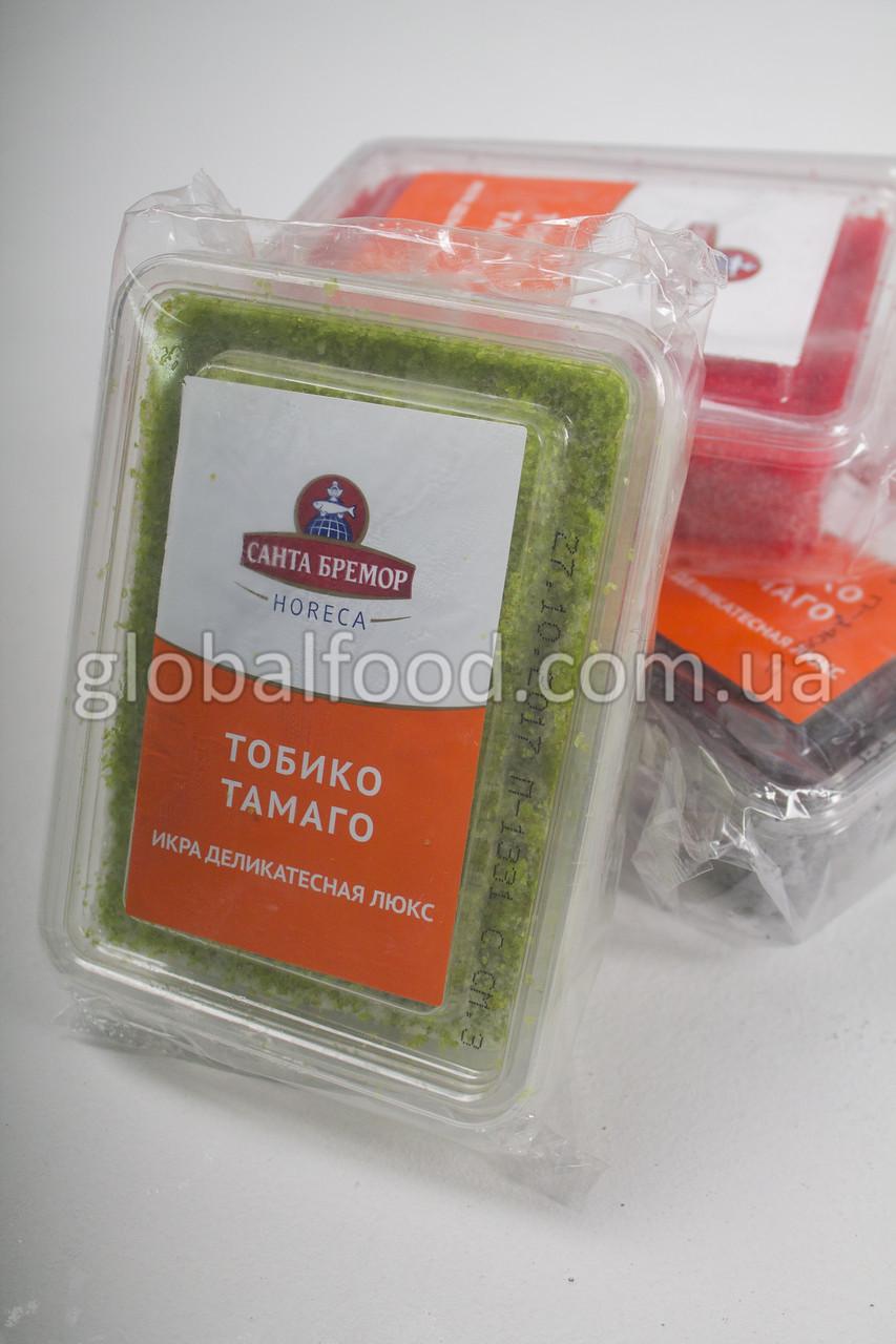 Икра Тобико Тамаго Зелёная Замороженная (0,5 кг.)