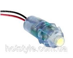 5хСветодиод быстрого монтажа 12В светодиодный пиксель IP68 9мм, белый