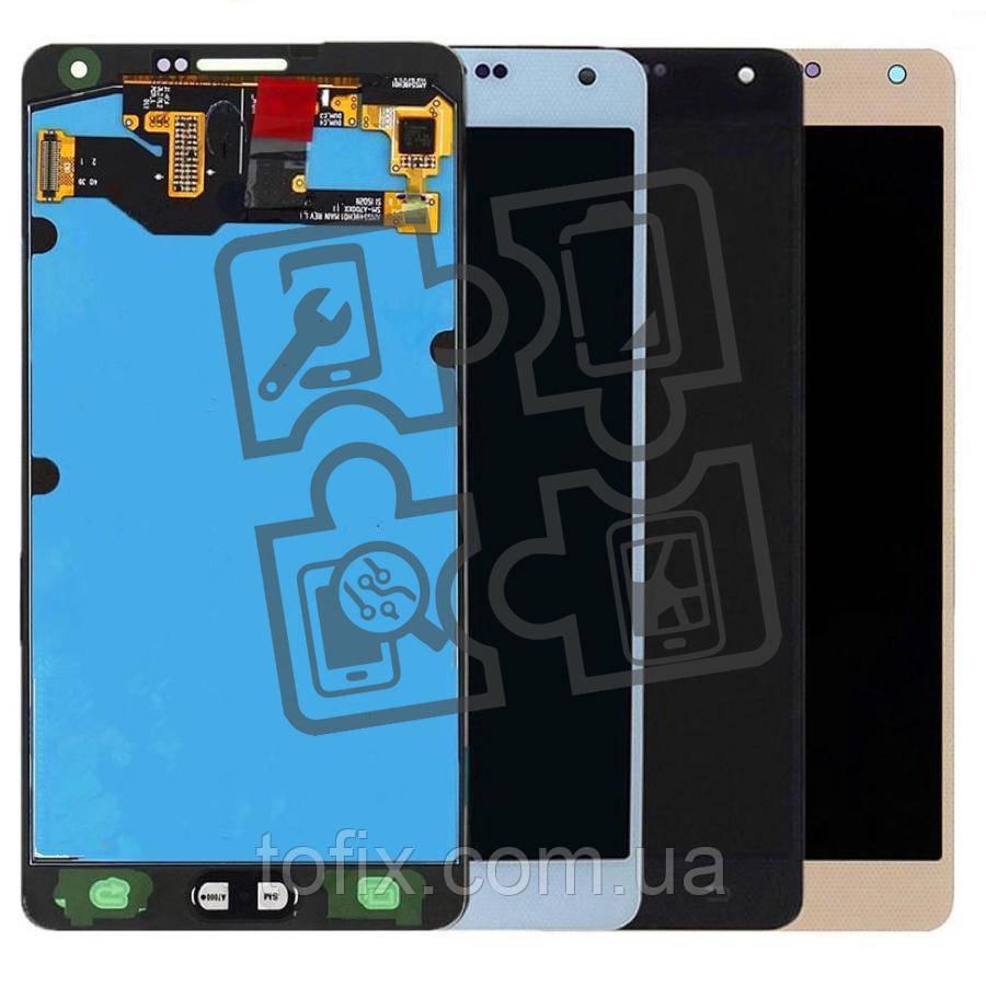 Дисплейный модуль (дисплей + сенсор) для Samsung Galaxy A7 (2015) A700, качественная копия (OLED)
