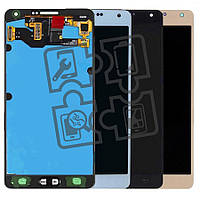 Дисплейный модуль (дисплей + сенсор) для Samsung Galaxy A7 (2015) A700, качественная копия (OLED), фото 1