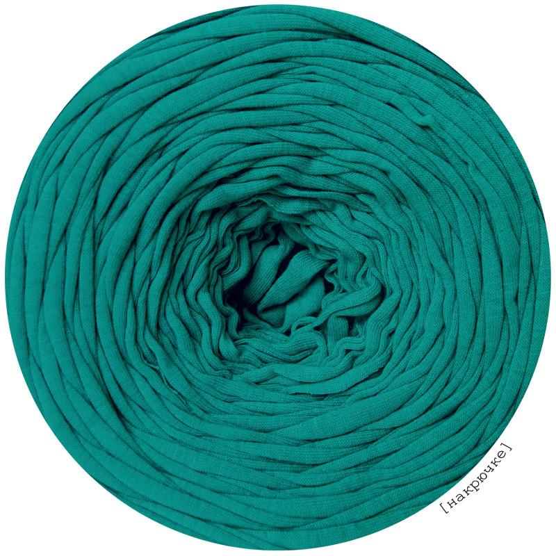 Пряжа трикотажная, цвет Морская волна (85 м)
