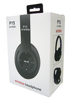 Беспроводные наушники P15 WIRELESS HEADPHONE (monster beats solo 2) c FM/MP3/SD/микрофон
