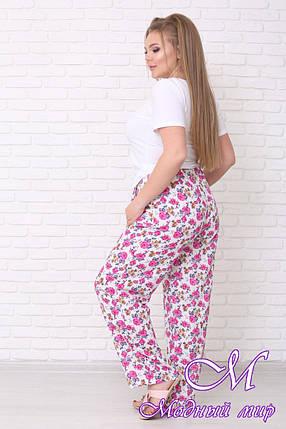 Летние женские брюки большого размера (р. 42-90) арт. Айрис, фото 2