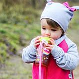 Поильник цветной Бидончик с рисунком и трубочкой 400 м ТМ Canpol Babies, фото 3