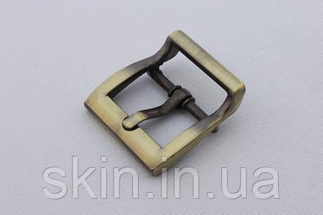 Пряжка сумочная, ширина - 20 мм, цвет - антик, артикул СК 5180, фото 2