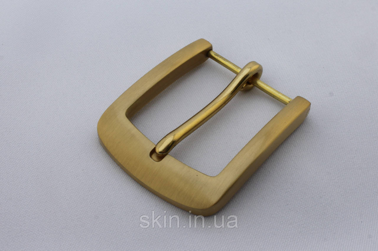 """Латунная ременная пряжка """"Классика"""", ширина 40 мм, артикул СК 5271"""