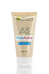 BB Cream Garnier Чиста Шкіра Актив крем для проблемної шкіри світло бежевий
