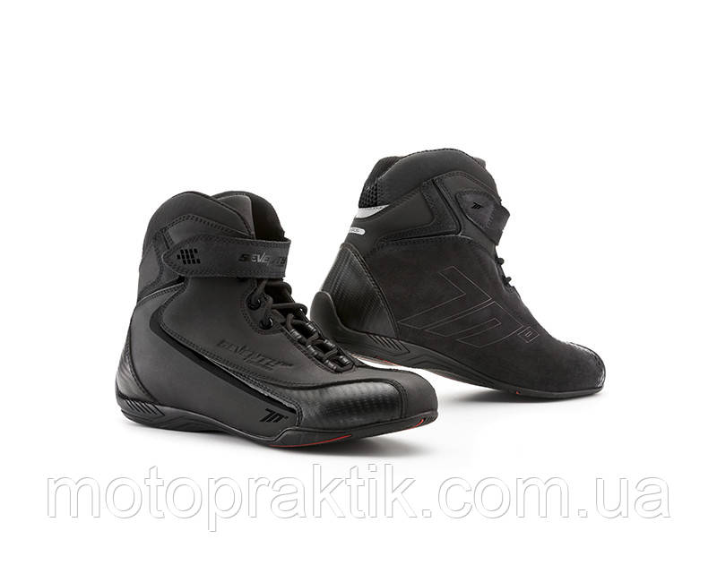 SEVENTY SD-BC6 Urban Boots Black, 36 Мотоботинки городские с защитой