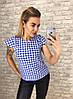 Блуза принт в расцветках  905001Б, фото 4