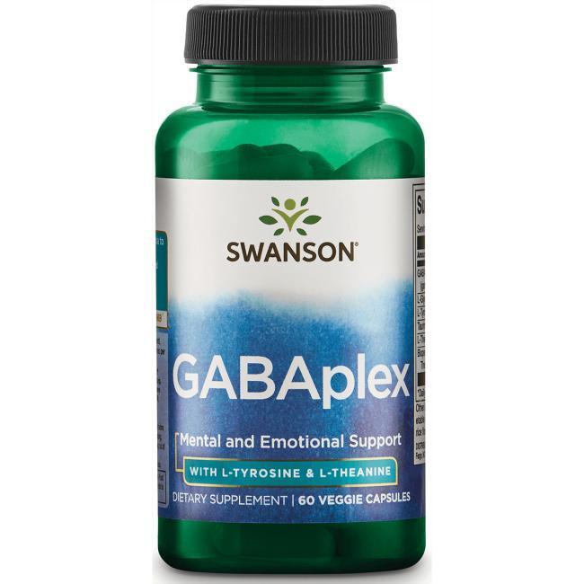 GABA Гамма-аминомасляная к-та GABAplex  с аминокислотами 60 капс США
