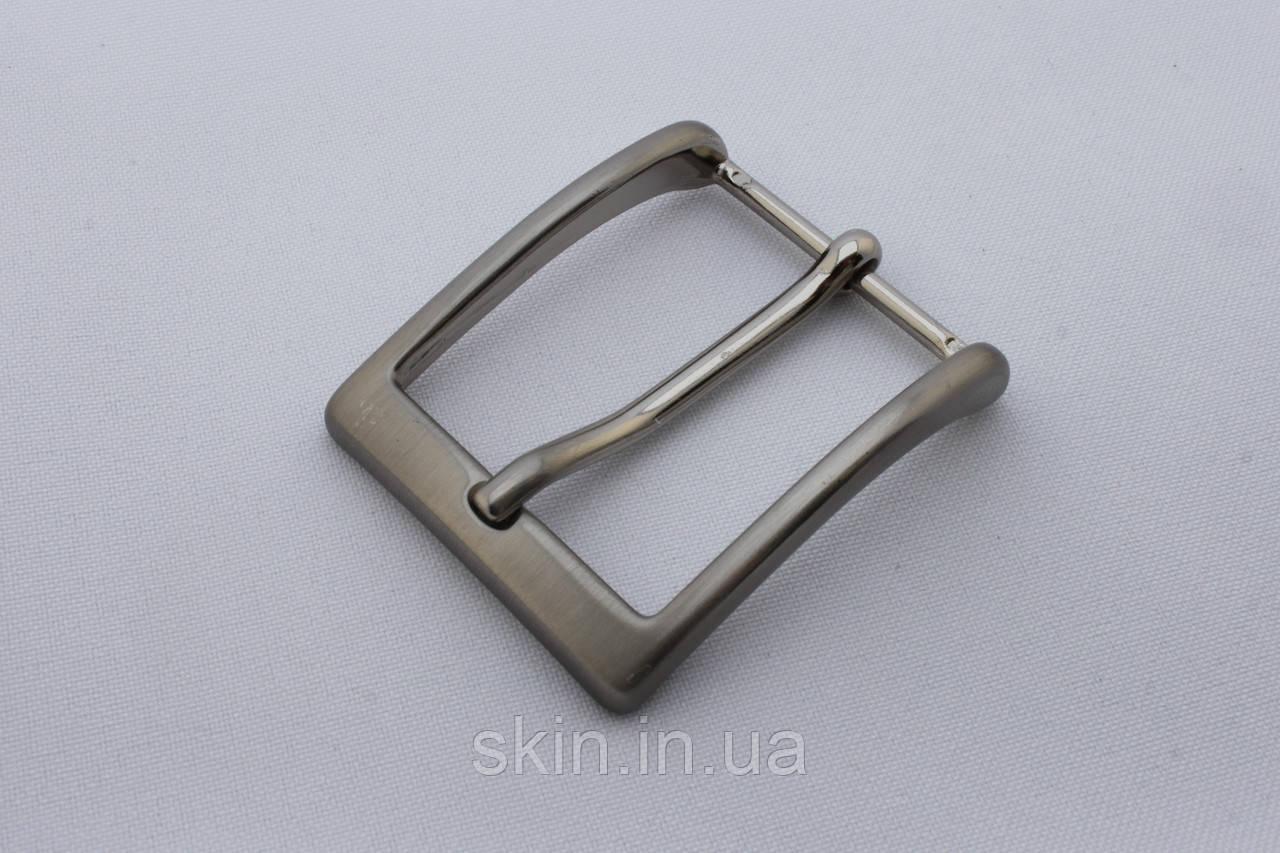 Пряжка ременная, ширина - 35 мм, цвет - никель, артикул СК 5093