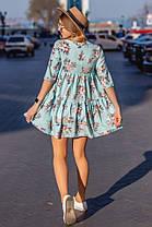 Платье  принт в расцветках  901027, фото 3