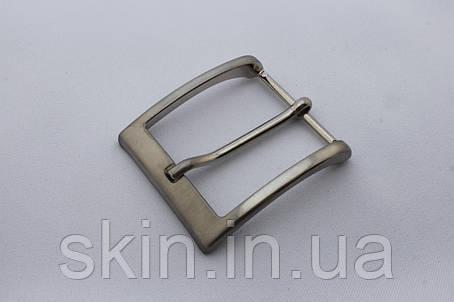 Пряжка ременная, ширина - 40 мм, цвет - никель, артикул СК 5103, фото 2