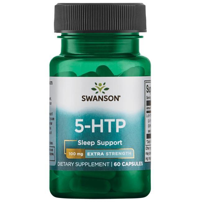 Swanson Ultra 5-HTP Extra Strength Антидепресант, зниження ваги 100 мг 60 капс