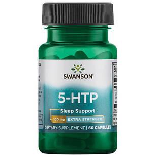 Swanson Ultra 5-HTP Extra Strength  Антидепрессант, снижение веса 100 мг 60 капс