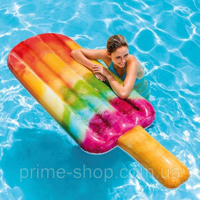 Надувной пляжный матрас - плот Эскимо Intex 58766