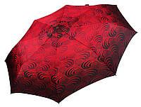 Женский зонт Airton Принт на красном ( автомат ) арт. 3635-2, фото 1