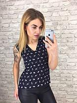 Блуза  принт в расцветках  901033, фото 2