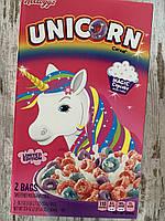 Сухой завтрак Kellogg's Единорог цветные хрустящие колечка двойная упаковка, фото 1