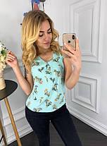 Лёгкая блуза в расцветках   901034, фото 3