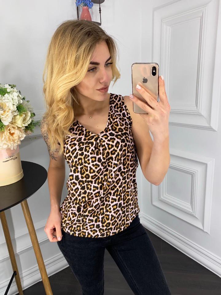 Лёгкая блуза в расцветках   901034