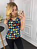 Лёгкая блуза в расцветках   901034, фото 6