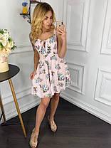 Платье  принт в расцветках  909000, фото 3