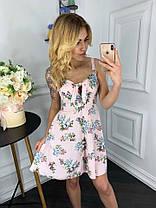 Платье  принт в расцветках  909000, фото 2