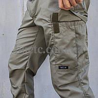 "Туристические ""KARGO"" брюки OLIVE, фото 6"
