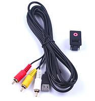 Aux кабель Toyota 3.5 мм 3 RCA автомобилей AUX USB Мужской  Volkswagen, фото 1
