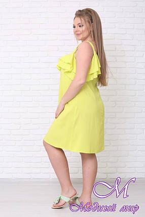 Красивое летнее платье большого размера (р. 42-90) арт. Адель, фото 2