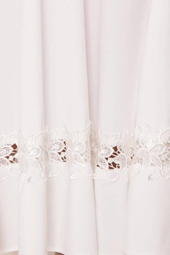 Белое летнее платье миди, фото 2