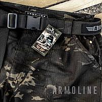"""Карго шорты с ремнём """"LEGION"""" Black Multicam, фото 8"""
