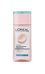 Loreal Тоник Бесконечная Свежесть Очищающий д/нормальной комбинированой кожи 200 мл Код 12598