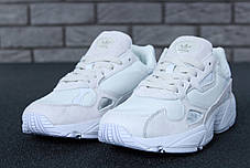 Женские кроссовки в стиле Adidas Falcon White (36, 37, 38, 39, 40 размеры), фото 2