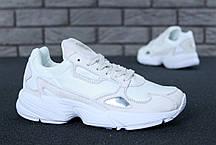 Женские кроссовки в стиле Adidas Falcon White (36, 37, 38, 39, 40 размеры), фото 3
