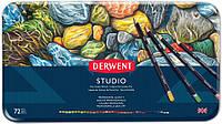 Набор цветных карандашей Studio в метал.короб. 72 цвета, Derwent