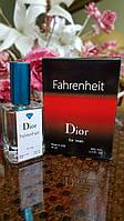 Мужской парфюм Christian Dior Fahrenheit  тестер 50 ml (кристиан диор фаренгейт) Diamond ОАЭ (реплика)