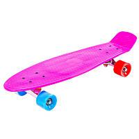 "Скейт Пенни борд 26"" , JP-HB-28 Розовый"