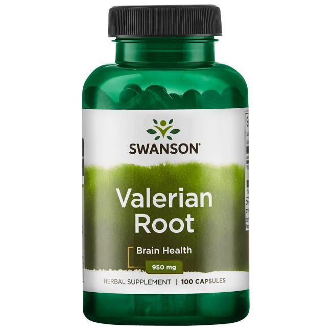 Swanson Premium Valerian Root Корень Валерианы 100 капс 475 мг