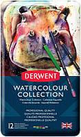 Набор акварельных карандашей Watercolour Collection, 12 предмет., в метал. короб., Derwent