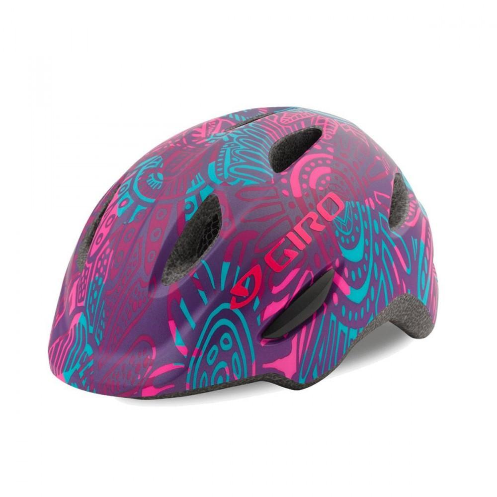 Велошлем детский Giro Scamp матовый фиолетвый Blossom, S (49-53) (GT)
