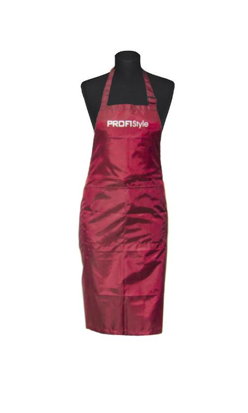 Profi Style Фартук бордовый с логотипом