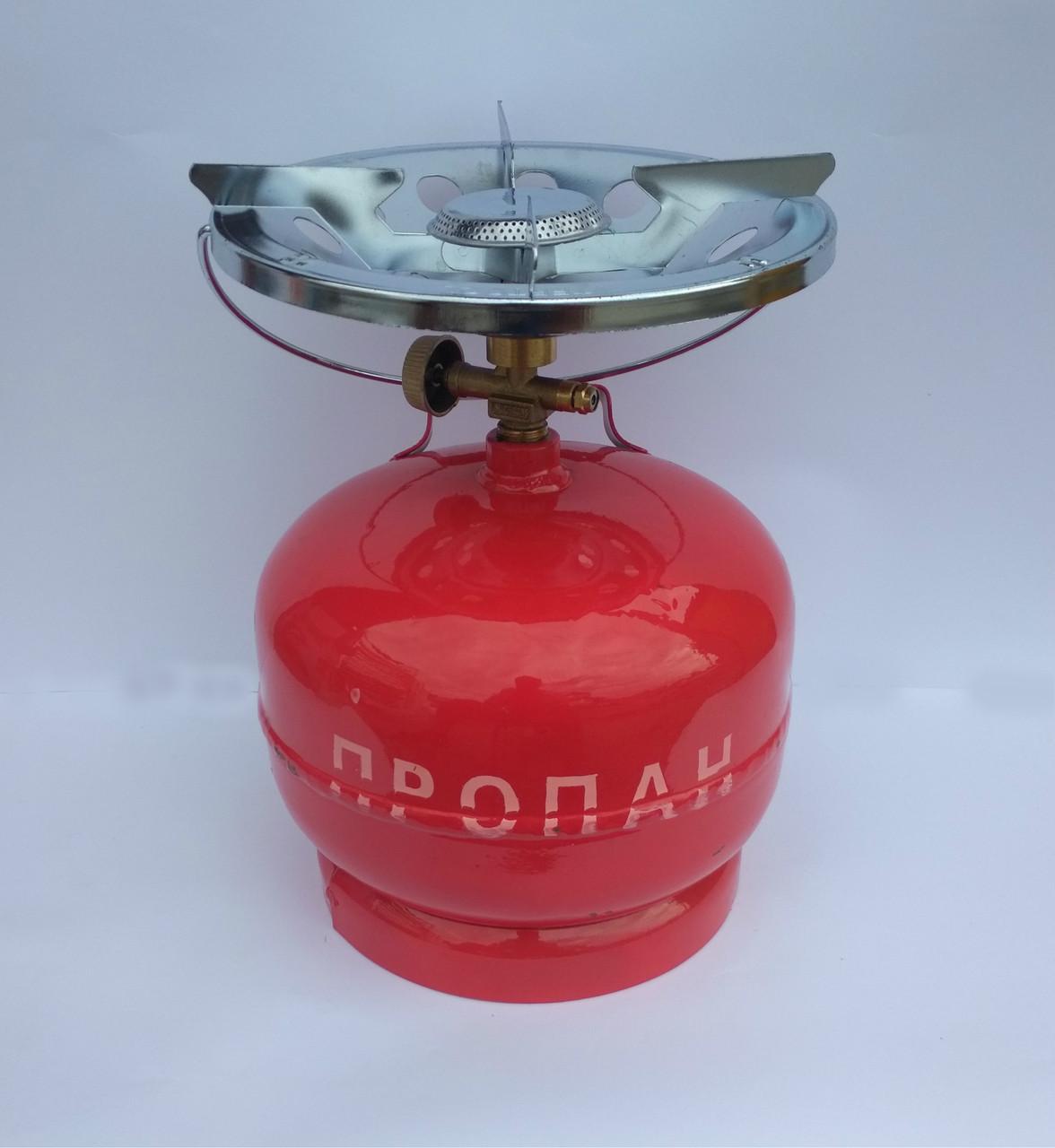 Портативная газовая горелка Intertool Украина 8л