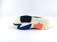 Кроссовки мужские Adidas Nite Jogger (черные-оранжевые) Top replic, фото 2