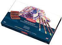 Набор цветных карандашей Coloursoft в дерев.ящике  72 цвета, Derwent