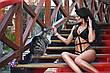 Открытый купальник из бифлекса, фото 3